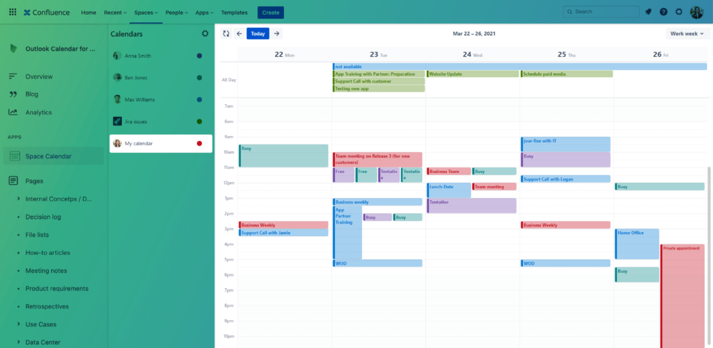 Outlook-Calendars-for-Confluence_Insert-a-current-users-calendar
